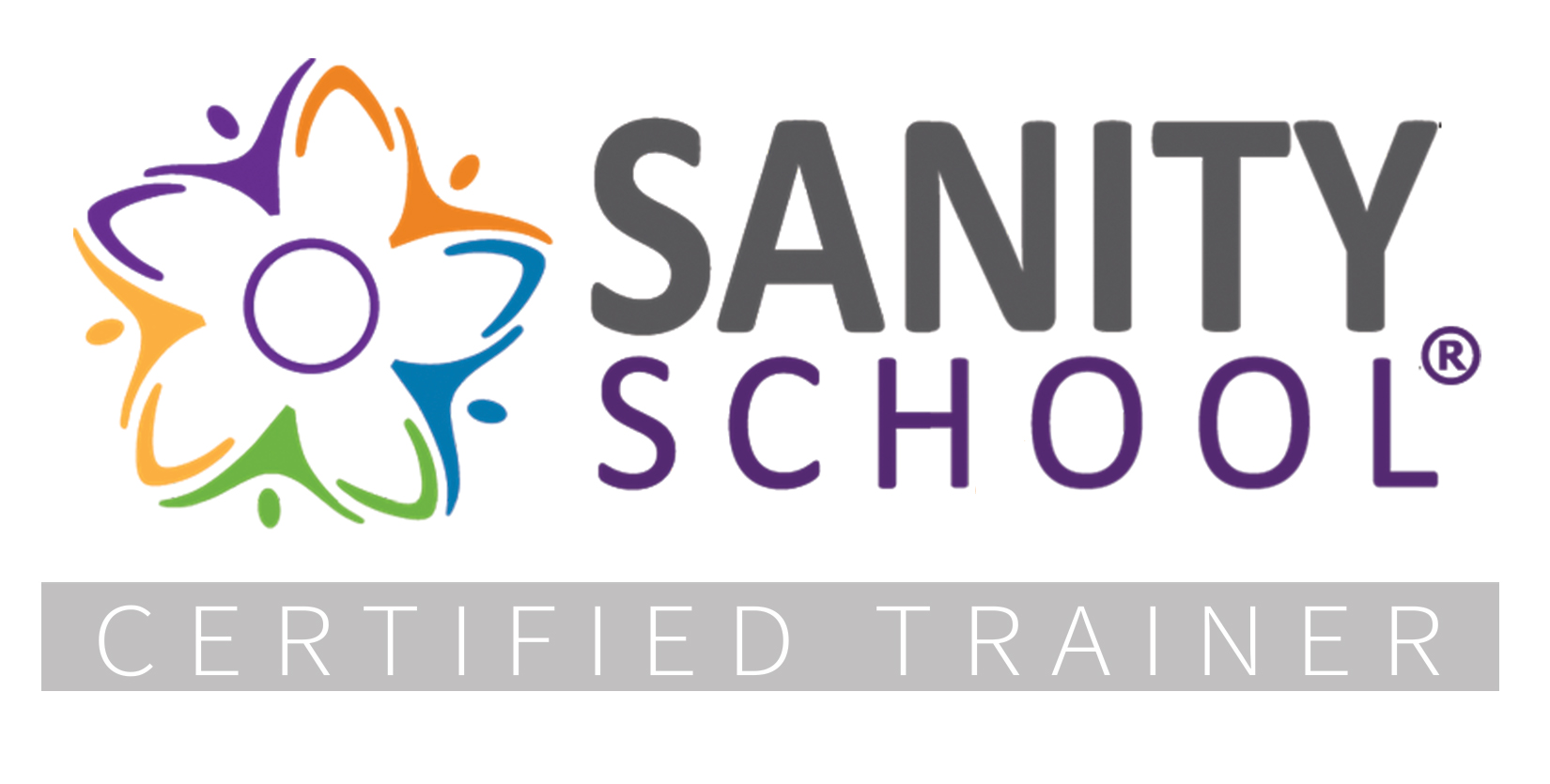 Sanity School (R) Certified Trainer logo